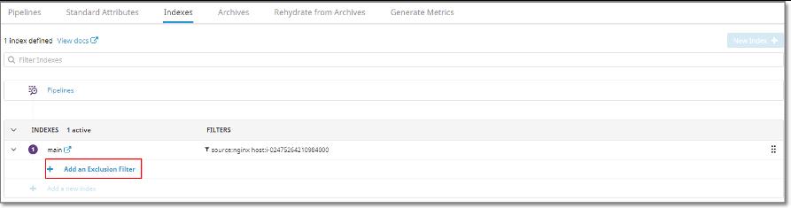 Datadog에 Indexing 되는 로그에 대한 비용 최적화 하는 방법